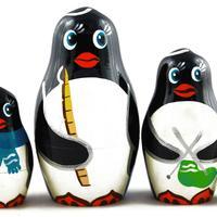 ペンギン マトリョーシカ