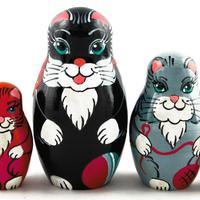 Kočky, hnízdící panenky