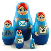 Internett matryoshka