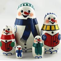 Snømenn hekkende dukker