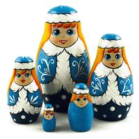 Χιόνι παρθενική ένθεσης κούκλες