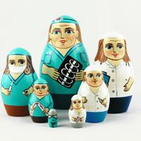 Doctors matryoshka dolls