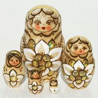 Matryoshka wooden dolls