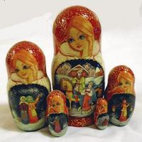 Russian wooden dolls
