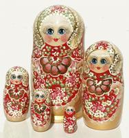 Muñecas de madera rusas