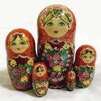 Orange matryoshka