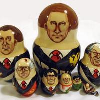 Путин Матрешка