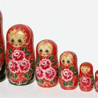 入れ子人形の花