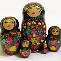 Чорний ляльки