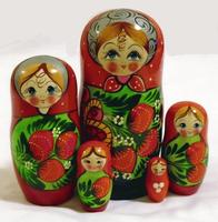 Strawberries Matryoshka