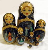 Snow Maiden matryoshka
