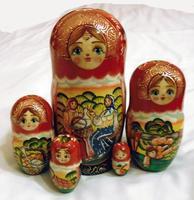 ロシアのマトリョーシカ人形