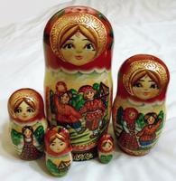 Лято стил matryoshka