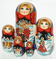 Winter matryoshka