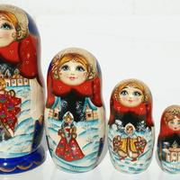 Vinter matryoshka