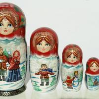 Zimní styl panenky