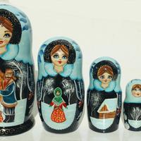 Matryoshka de invierno