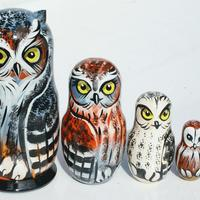 Owls matryoshka