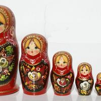 Handmade nesting dolls