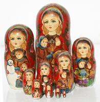 Children matryoshka