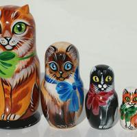 猫マトリョーシカ