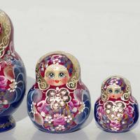 ロシアの木製玩具