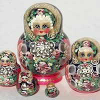 Giocattoli bambola russa