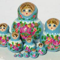 Skyblue doll toys