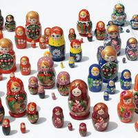 Matryoshka dolls