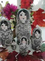 Handmade Russian dolls