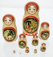 Peacock matryoshka
