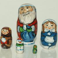 Munecos de Santa Claus