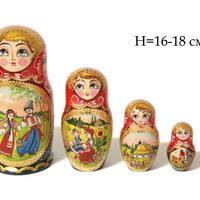 Bambola di legno di nidificazione