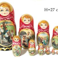 Traditionel matryoshka