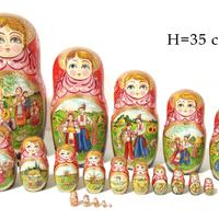 Big matryoshka κούκλα