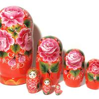 Red rose matryoshka